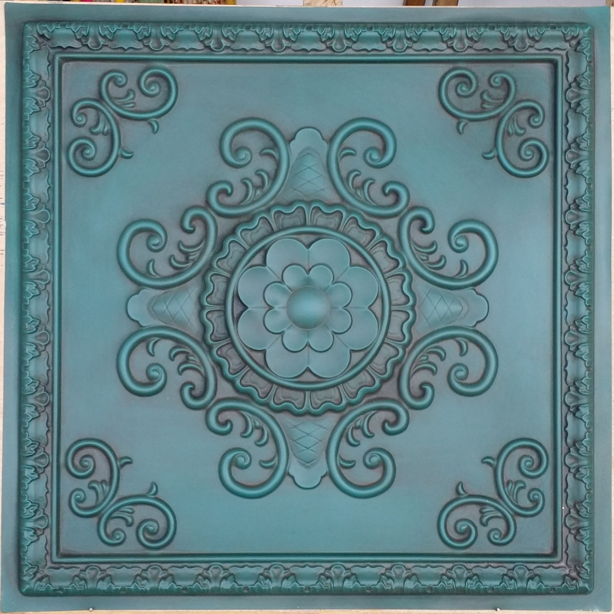 black oscommerce tiles brilliance product tile antique bronze c pvc info ceiling caracas