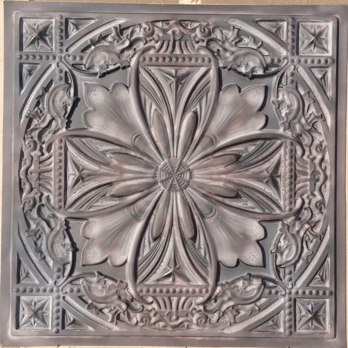 tin interior lace decor ceiling white tiles kitchen diy tile lowes cool your cottage for faux island