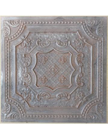 Amercian Ceiling tiles Faux Tin weathered iron color PL04 10pcs/lot