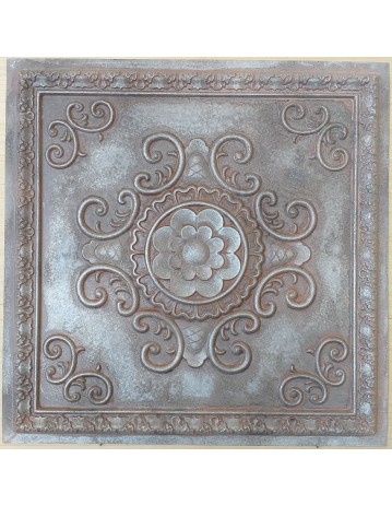Amercian Ceiling tiles Faux Tin weathered iron color PL08 10pcs/lot