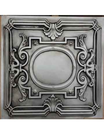 Faux Tin ceiling tiles Antique silver color PL15 pack of 10pcs