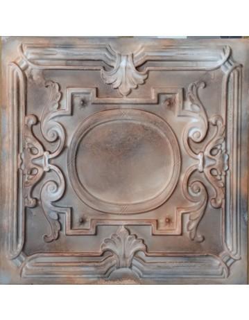 Plastic Ceiling tiles Faux tin washed brown color PL15 10pcs/lot