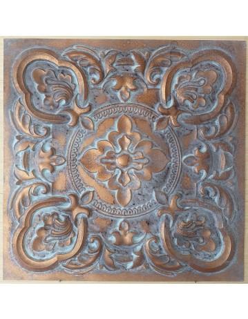 Ceiling tiles Faux vintage painted weathering copper color PL30 10pc/lot