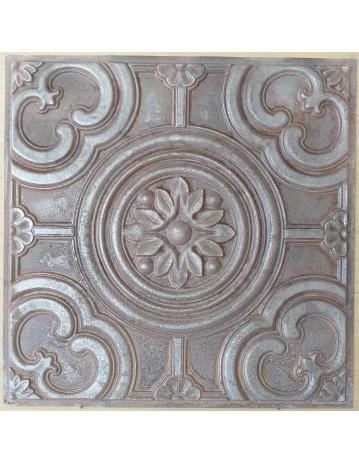 Amercian Ceiling tiles Faux Tin weathered iron color PL50 10pcs/lot