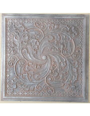 Amercian Ceiling tiles Faux Tin weathered iron color PL62 10pcs/lot