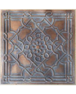 Ceiling tiles Faux Tin vintage painted weathering copper color PL09 10pc/lot