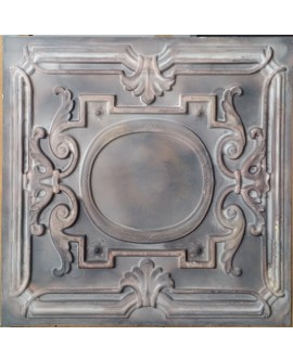 Faux Tin ceiling tiles old wood gray color PL15 pack of 10pcs