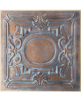 Ceiling tiles Faux Tin vintage painted weathering copper color PL15 10pc/lot