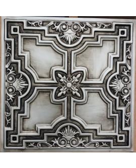 Faux Tin ceiling tiles antique silver PL16 pack of 10pcs