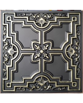 Faux Tin ceiling tiles clasic aged bronze PL16 pack of 10pcs