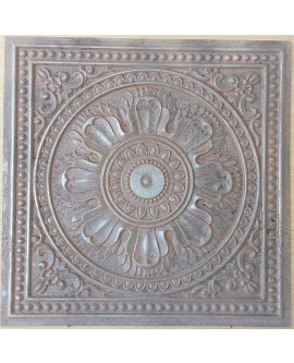 Amercian Ceiling tiles Faux Tin weathered iron color PL17 10pcs/lot