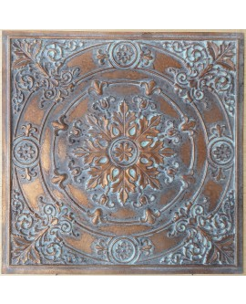 Ceiling tiles Faux vintage painted weathering copper color PL18 10pc/lot