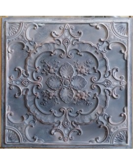 Tin ceiling tiles artistic old wood gray color cafe club wall panel PL19 pack of 10pcs
