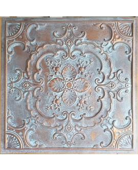 Ceiling tiles Faux vintage painted weathering copper color PL19 10pc/lot
