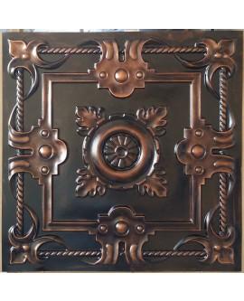 Ceiling tiles Faux paint palaeo copper color PL29 pack of 10pcs