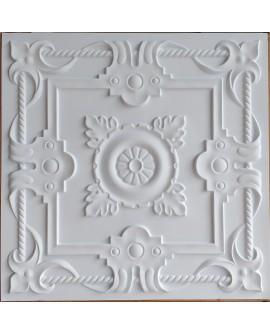 Tin ceiling tiles artistic white matt color bar wall panel PL29 pack of 10pcs