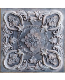 Tin ceiling tiles artistic old wood gray color cafe club wall panel PL30 pack of 10pcs