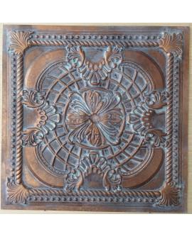 Ceiling tiles Faux vintage painted weathering copper color PL31 10pc/lot