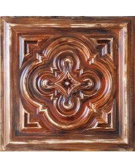 Ceiling tiles Faux painted oil painting wood color PL36 10pc/lot