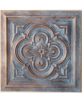 Ceiling tiles Faux vintage painted weathering copper color PL36 10pc/lot