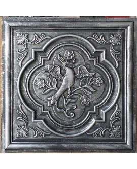 Ceiling tiles Faux paint antique Tin color PL39 pack of 10pcs