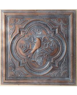 Ceiling tiles Faux vintage painted weathering copper color PL39 10pc/lot