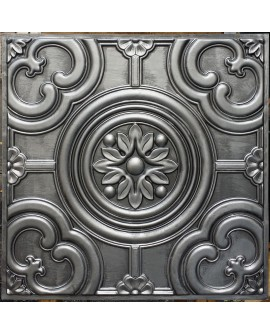 Faux Tin ceiling tiles antique tin color PL50 pack of 10pcs