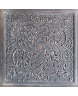 Plastic Ceiling tiles Faux tin driftwood color PL62 10pcs/lot