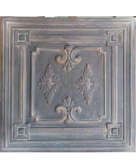 Plastic Ceiling tiles Faux tin driftwood color PL63 10pcs/lot