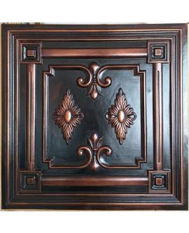 Plastic Ceiling tiles Faux tin palaeo copper color PL63 10pcs/lot