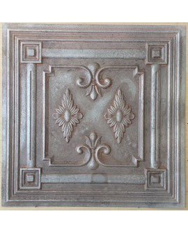 Amercian Ceiling tiles Faux Tin weathered iron color PL63 10pcs/lot