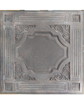 PVC Ceiling tiles Faux tin driftwood color PL65 10pcs/lot