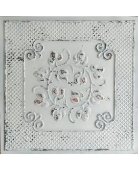 Ceiling tiles Faux tin distressed crack white black color PL66 10pcs/lot