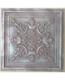 Amercian Ceiling tiles Faux Tin weathered iron color PL07 10pcs/lot