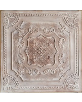 Ceiling tiles Faux Tin painting beige color PL04 pack of 10pc