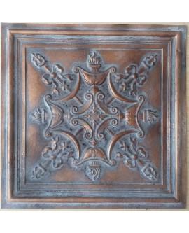 Ceiling tiles Faux Tin vintage painted weathering copper color PL07 10pc/lot