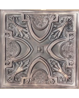 Faux Tin ceiling tiles old wood gray color PL11 pack of 10pcs