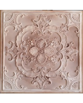 Ceiling tiles Faux Tin painting beige color PL19 pack of 10pc