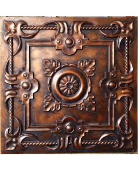 ceiling tiles Faux tin paint archaic copper color PL29 pack of 10pcs