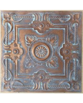 Ceiling tiles Faux vintage painted weathering copper color PL29 10pc/lot