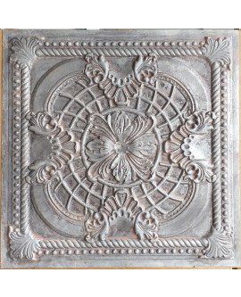 24x24 Ceiling tiles Faux Tin weathered iron color PL31 10pcs/lot
