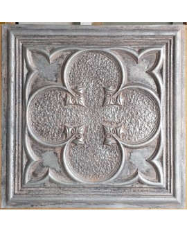 24x24 Ceiling tiles Faux Tin weathered iron color PL35 10pcs/lot