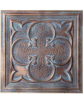 Ceiling tiles Faux vintage painted weathering copper color PL35 10pc/lot