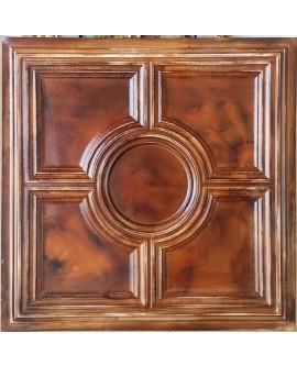 Ceiling tiles Faux painted oil painting wood color PL37 10pc/lot