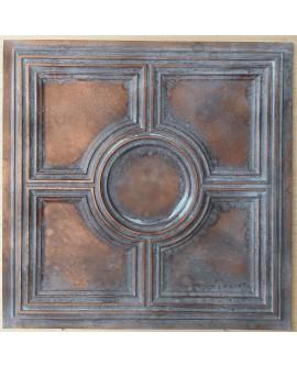 Ceiling tiles Faux vintage painted weathering copper color PL37 10pc/lot