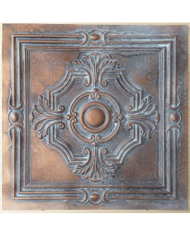 Ceiling tiles Faux vintage painted weathering copper color PL38 10pc/lot