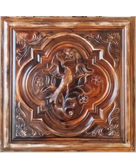 Ceiling tiles Faux painted oil painting wood color PL39 10pc/lot