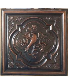 Ceiling tiles Faux paint palaeo copper color PL39 pack of 10pcs