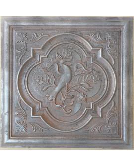 Amercian Ceiling tiles Faux Tin weathered iron color PL39 10pcs/lot