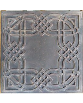 Plastic Ceiling tiles Faux tin driftwood color PL61 10pcs/lot